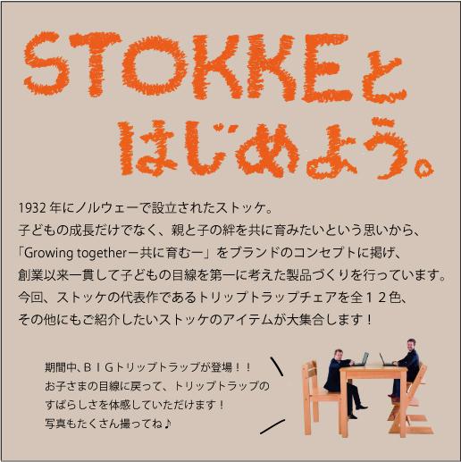 STOKKEとはじめよう!